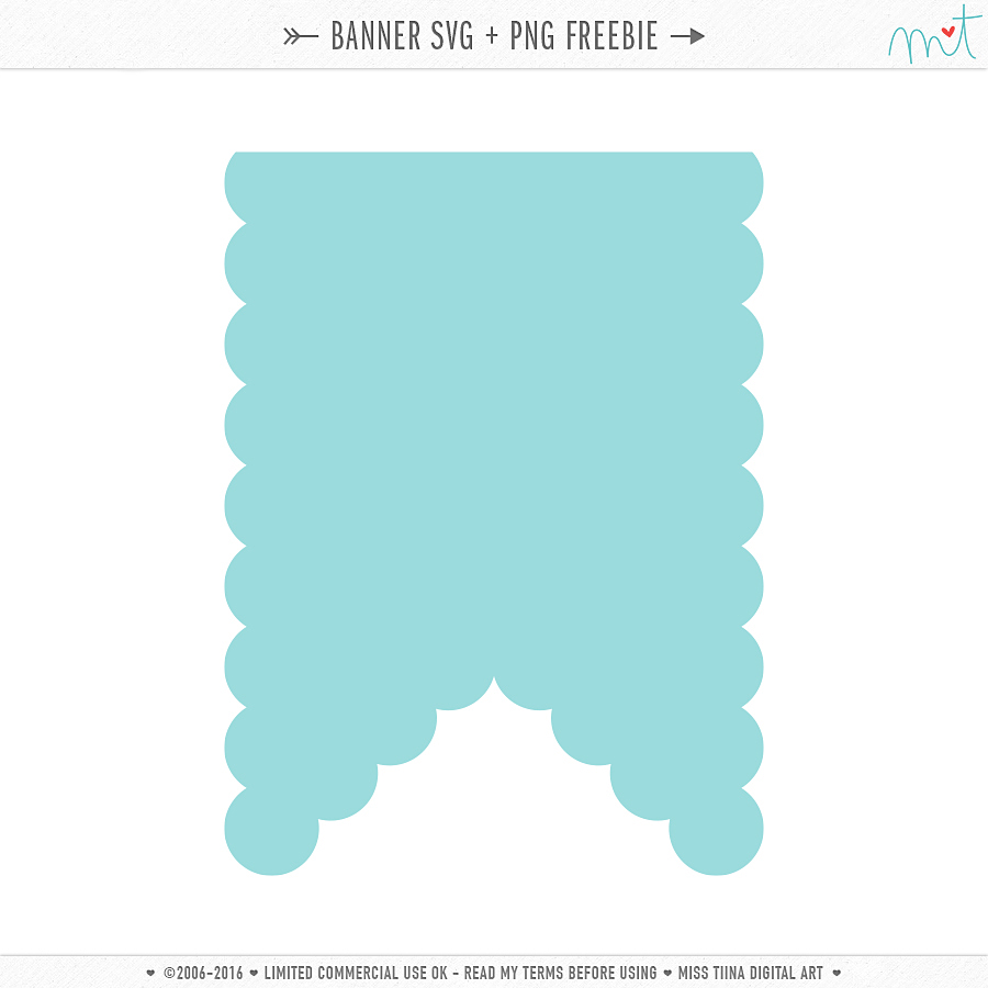 new svg banners freebie